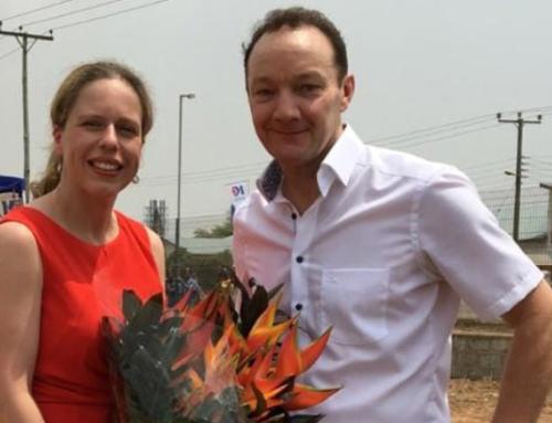 MDK-Directeur Marcel Duijvesteijn ontmoet minister Carola Schouten in Ghana